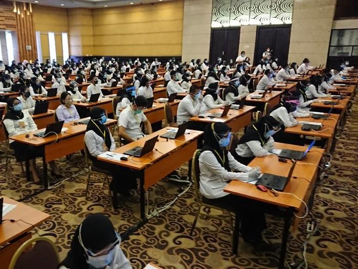 Puluhan Peserta Tak Hadir saat Ujian CPNS di Trenggalek