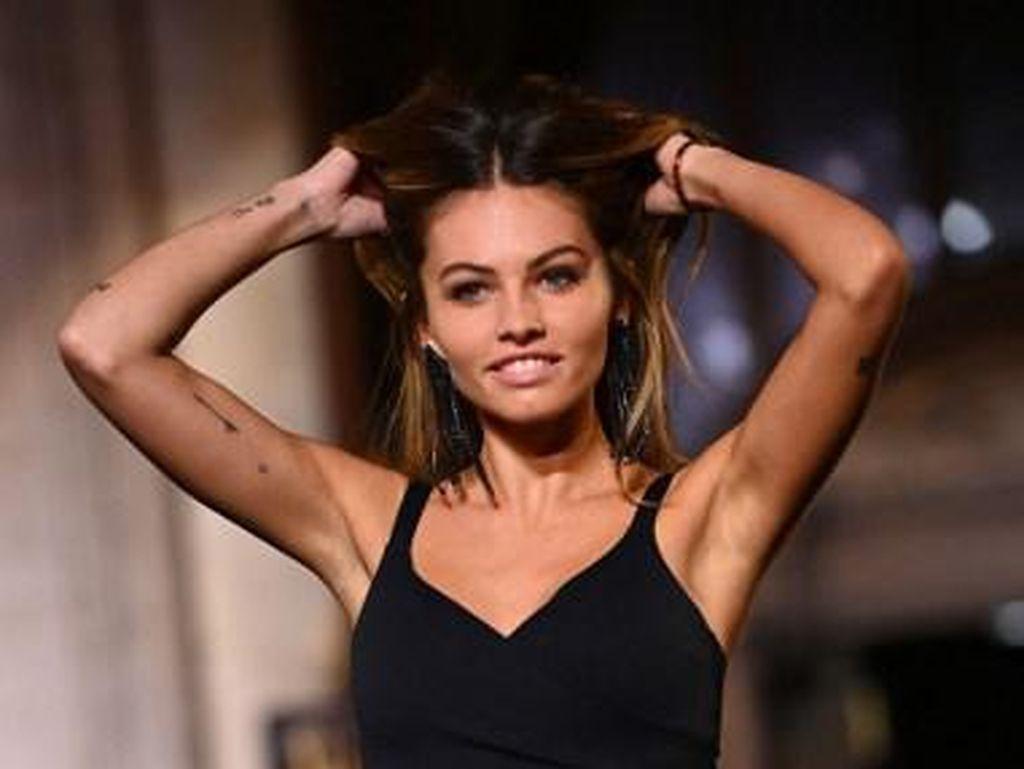 Foto Thylane Blondeau, Dulu Viral Jadi Anak Tercantik, Kini Model Lingerie