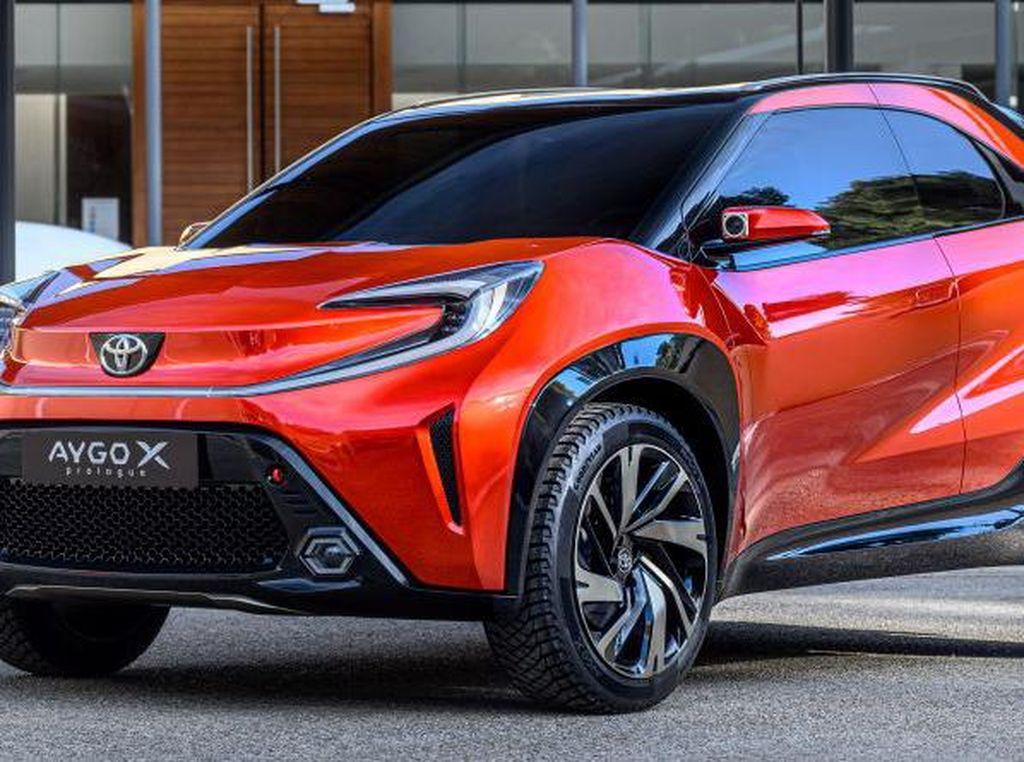 Toyota Luncurkan Mobil Baru Bulan Depan, Agya Versi Crossover?