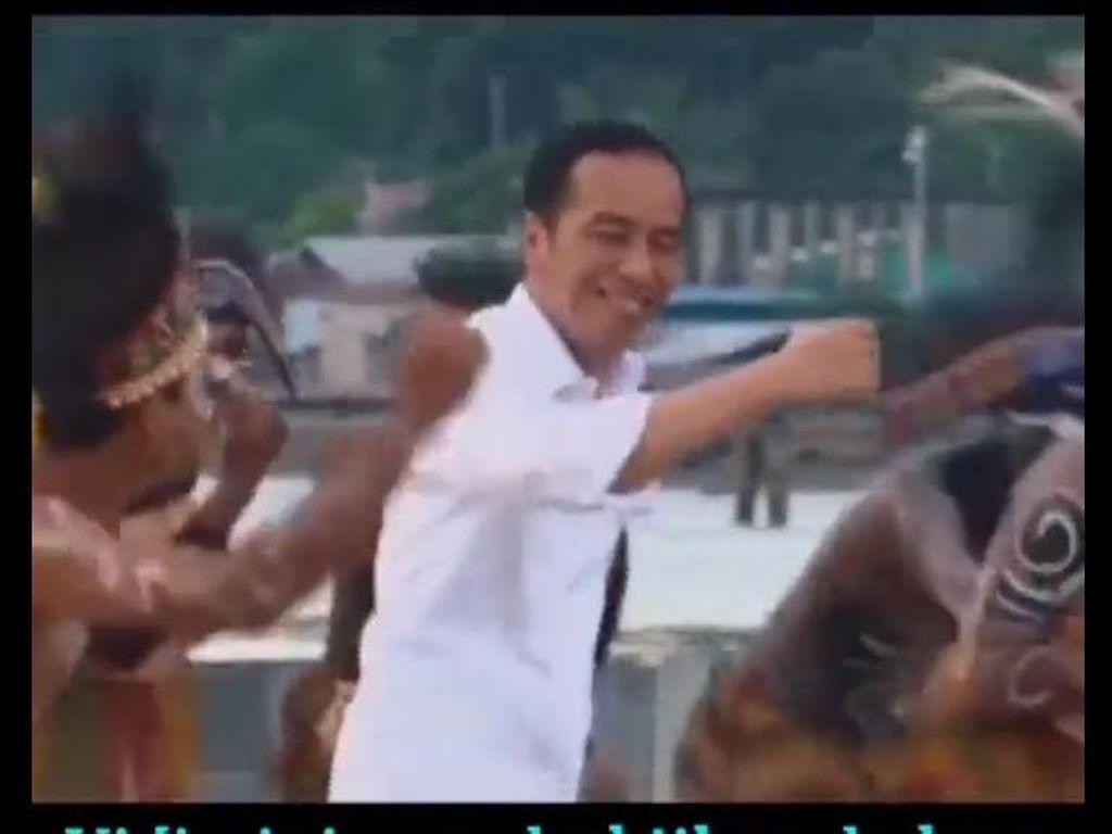 Jokowi Diserang Isu Liar Joget Tak Bermasker Padahal Sebelum Pandemi
