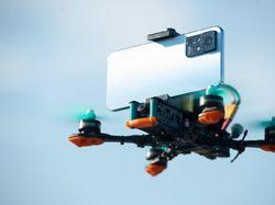 Ketika Puluhan Smartphone Terbang di Atas Aurora Yogyakarta