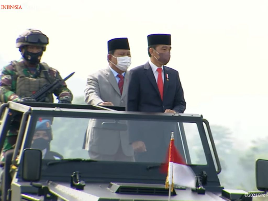 Tetapkan 3.103 Personel Komcad, Jokowi: Hanya untuk Pertahanan Negara!