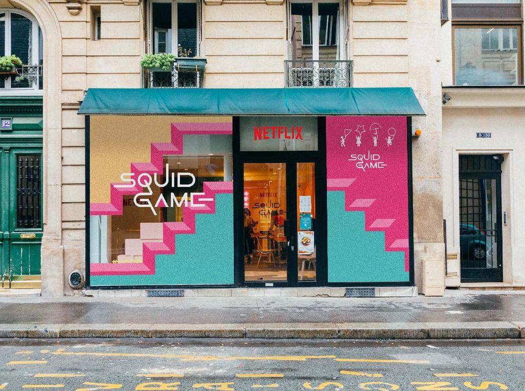 Squid Game Buka Pop-up Store di Paris, Antre Panjang Hingga Picu Perkelahian