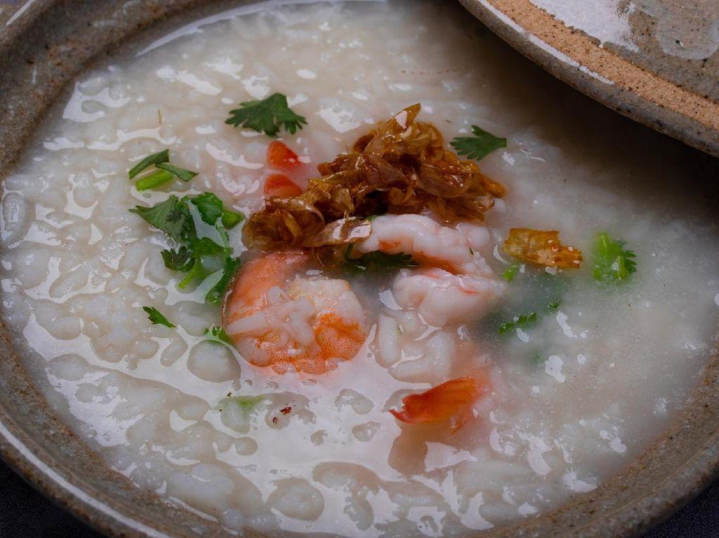 Resep Bubur Udang ala Restoran Chinese Food Buat Sarapan Spesial