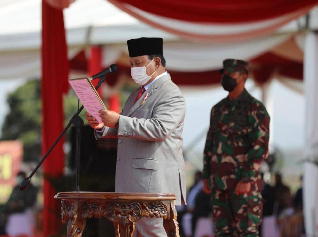 Menhan Prabowo Subianto Ulang Tahun Ke-70