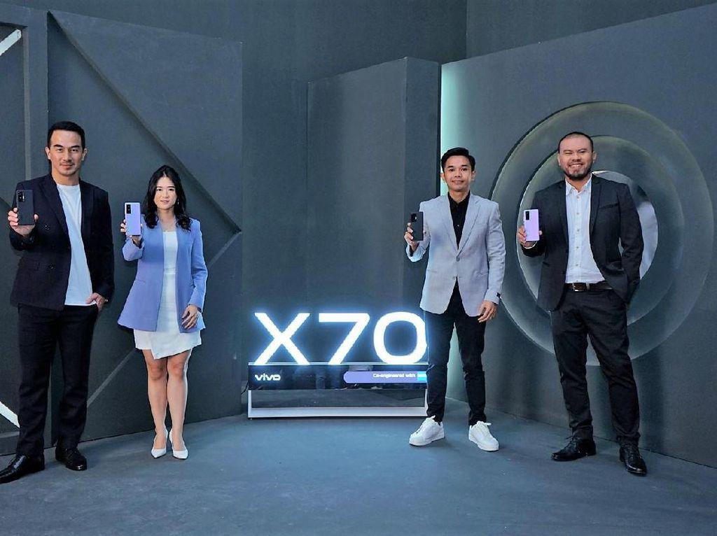 Resmi Meluncur, Ini Spesifikasi dan Harga Vivo X70 Pro 5G