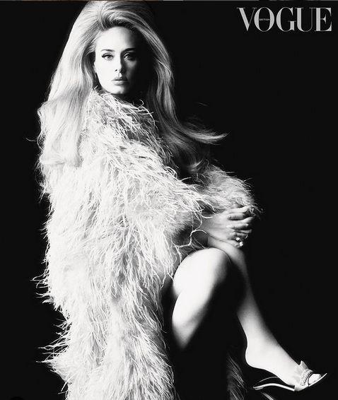 Adele di majalah British Vogue