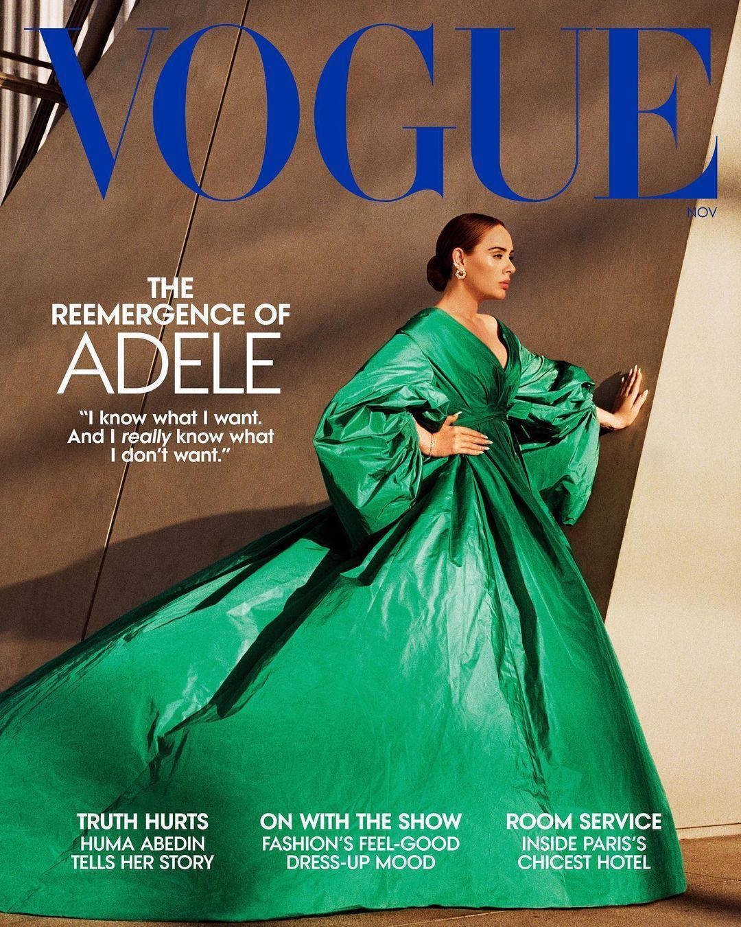Adele di Vogue Oktober 2021