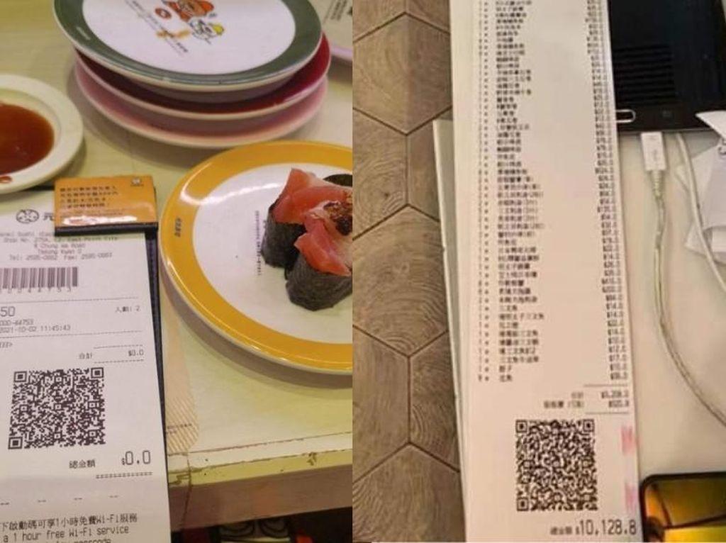 Kalap Makan Sushi, Orang Ini Kaget Tagihannya Capai Rp 18,4 Juta
