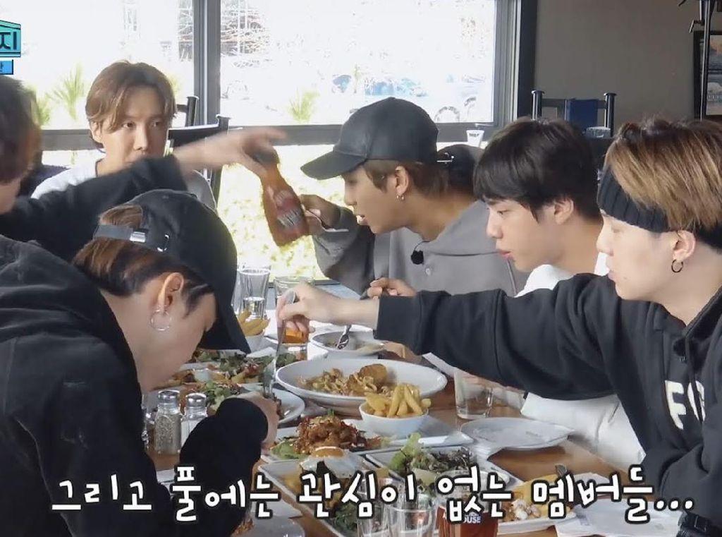 Member BTS Ogah Makan Sayur, Salad Selalu Tak Disentuh