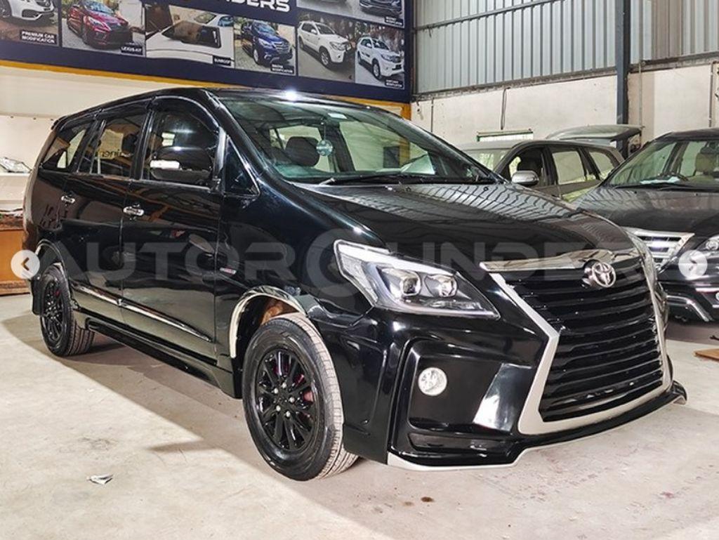 Modfikasi Kijang Innova Rasa Lexus