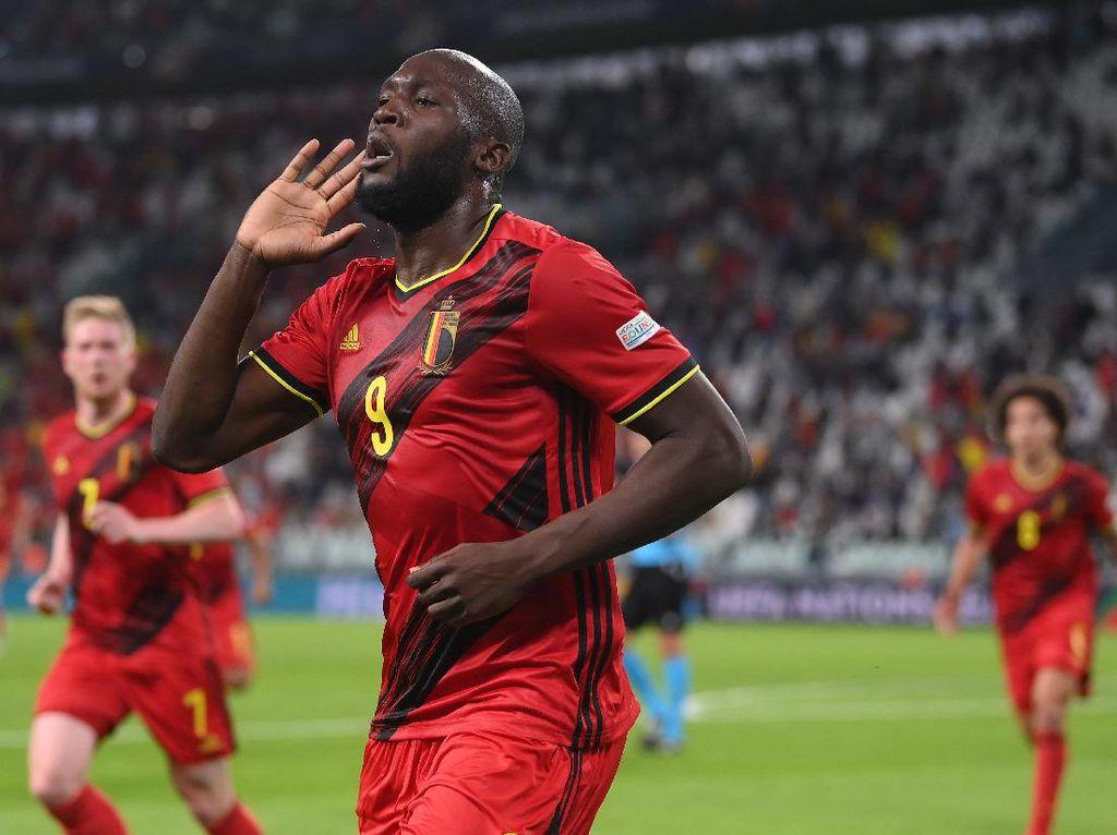 Italia Vs Belgia: Hazard dan Lukaku Dipastikan Absen