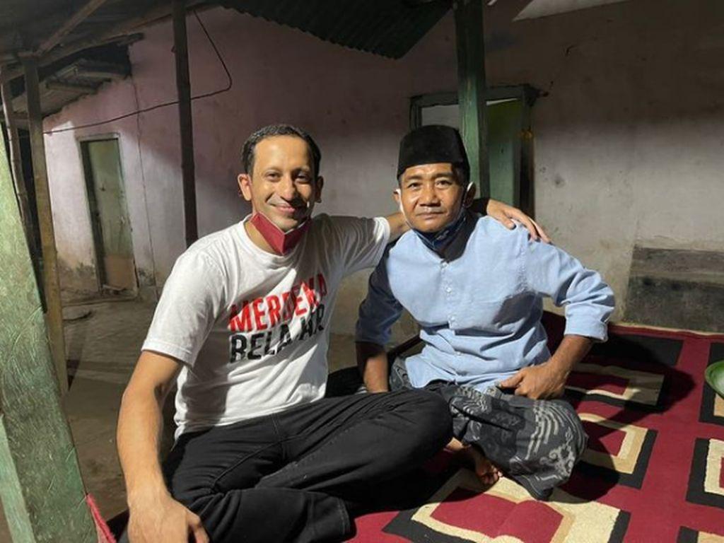 Nadiem Surati Bapak Kosnya di Lombok, Isinya Bikin Haru