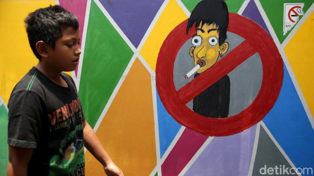 Tahu Nggak, Ada Kampung Bebas Asap Rokok Lho di Jakarta