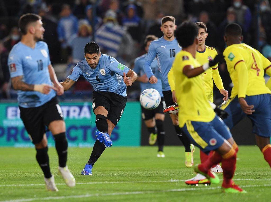 Kualifikasi Piala Dunia 2022: Uruguay Vs Kolombia Tuntas Tanpa Gol