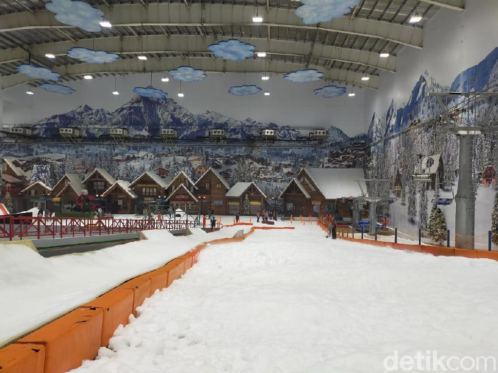 Kembali Dibuka, Suasana Trans Snow World Kondusif