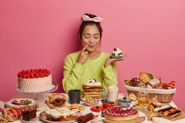 Hindari makanan tinggi kalori