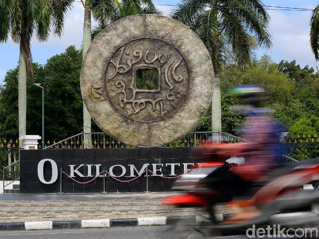 Ini Dia Tugu Nol Kilometer Icon Baru Pangkalpinang