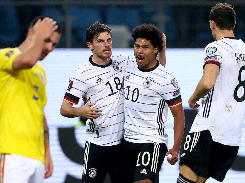 Kualifikasi Piala Dunia 2022: Jerman Atasi Rumania 2-1