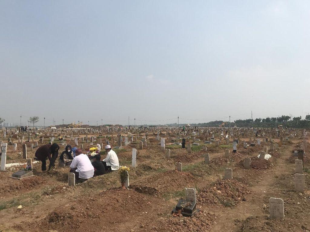 Kabar Baik, Tak Ada Pemakaman Protap COVID di TPU Rorotan 3 Hari Terakhir