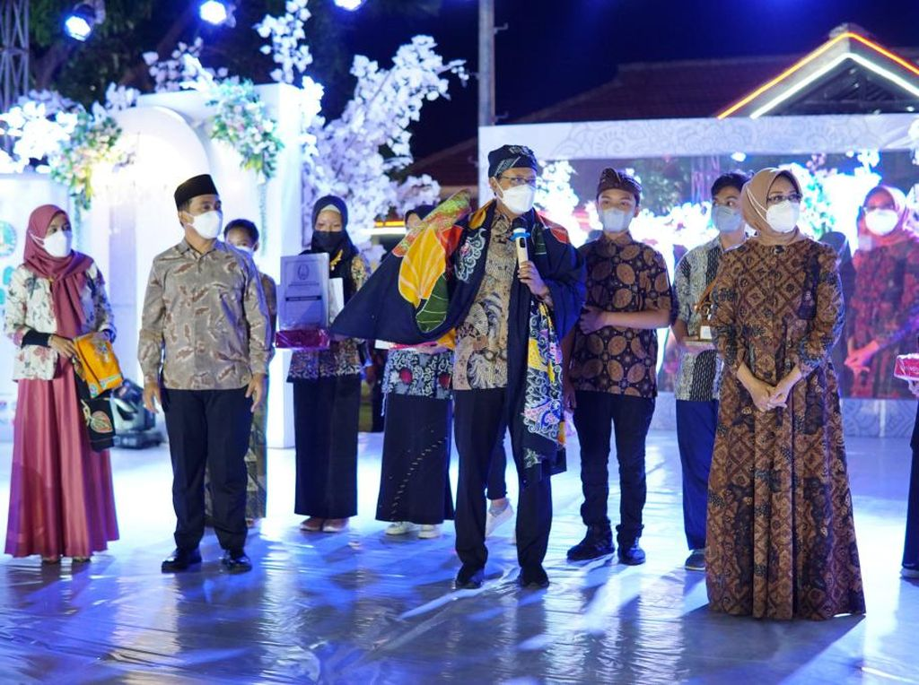 Pertama Kalinya Kota Pasuruan Gelar Festival Batik Sejak Pandemi COVID-19