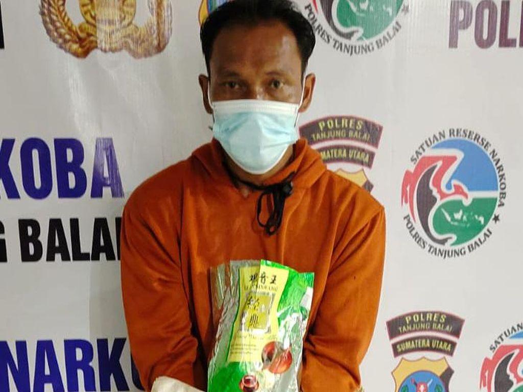 Bandar Narkoba Ditangkap di Tanjungbalai, Sabu 1 Kg Lebih Disita