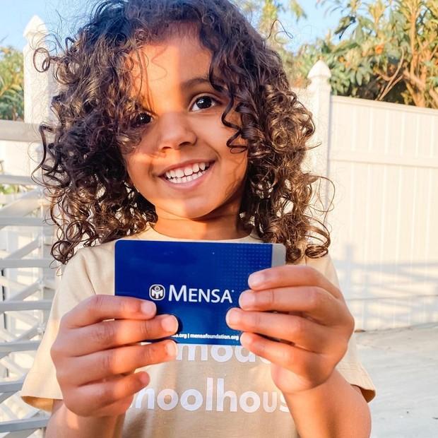 Kashe Quest menjadi anggota termuda Mensa