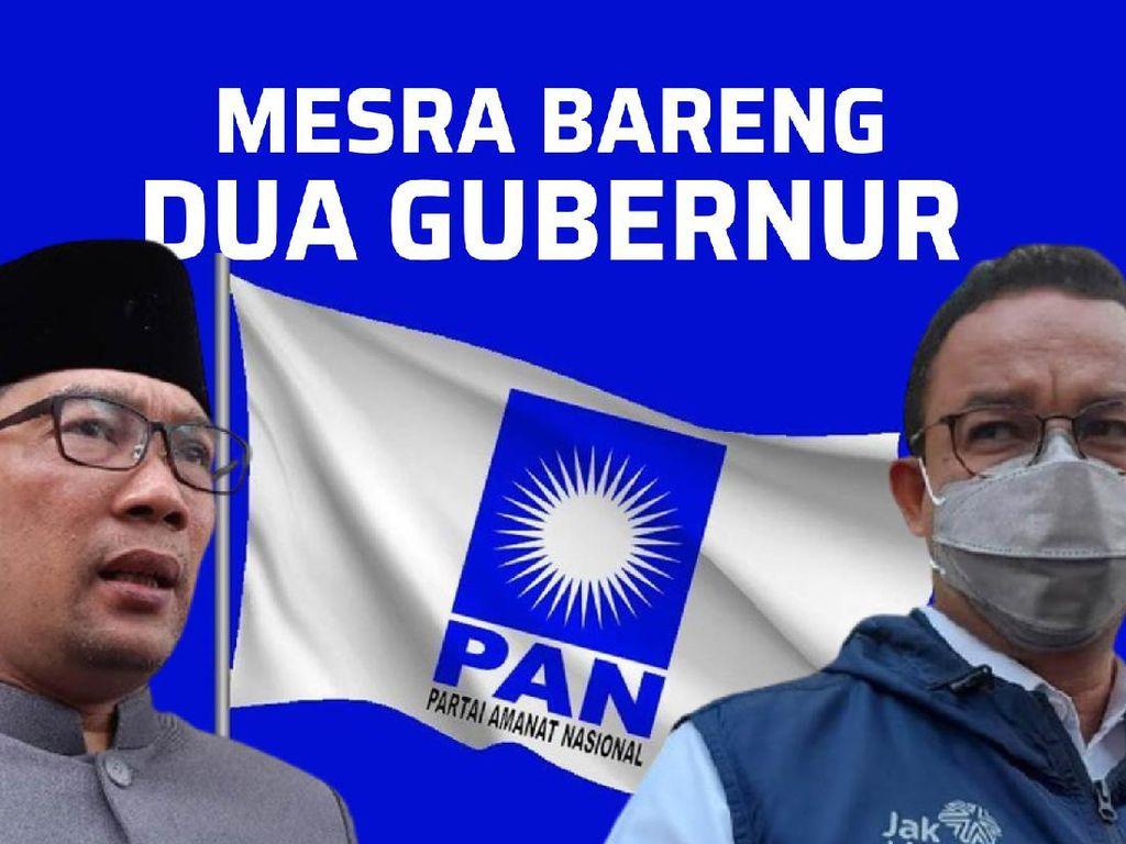 Manuver PAN Beri Mimbar Anies-RK, Sinyal Dukungan 2024?
