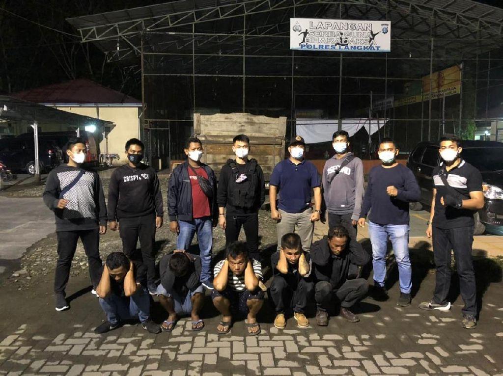 Pungli Warga di Jalinsum, 5 Pria di Sumut Ditangkap Polisi