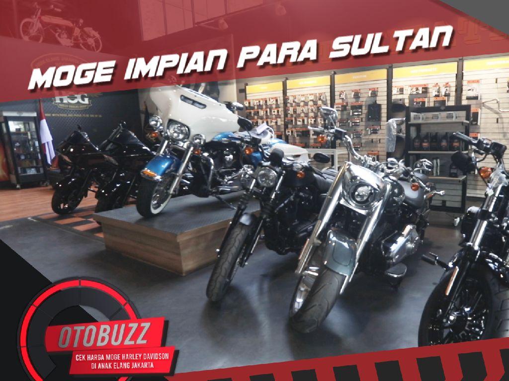 Mau Beli Moge Harley Davidson? Yuk Kita Cek Harganya
