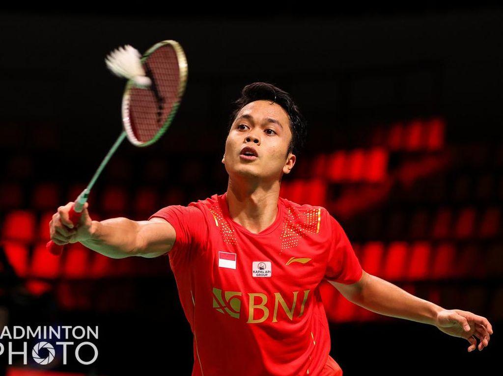 Anthony Ginting Kalahkan Lee Zii Jia berkat Permainan Agresif