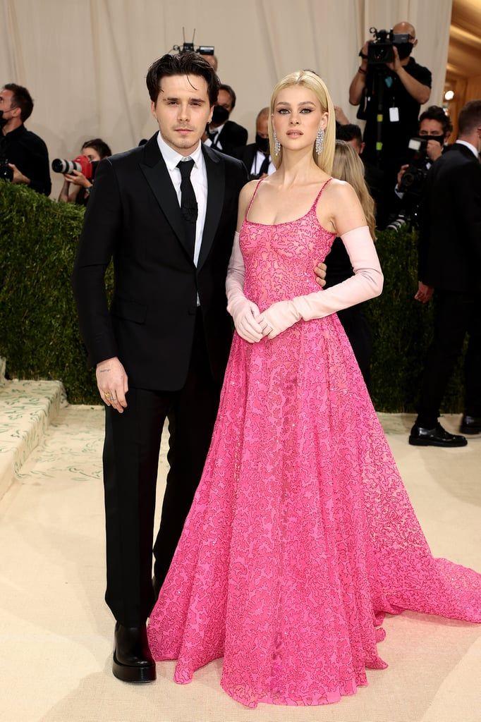 Brooklyn Beckham dan Nicola Peltz di Met Gala 2021