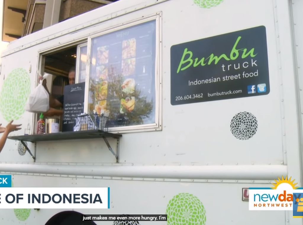 Bumbu Truck, Food Truck yang Tawarkan Menu Makanan Indonesia di Amerika