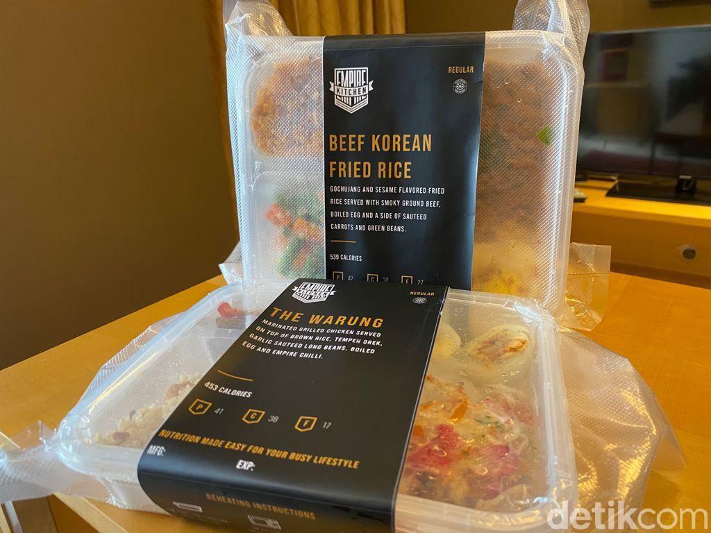 Empire Kitchen : Makan Nasi Warung hingga Nasgor Korea Sehat Rendah Kalori
