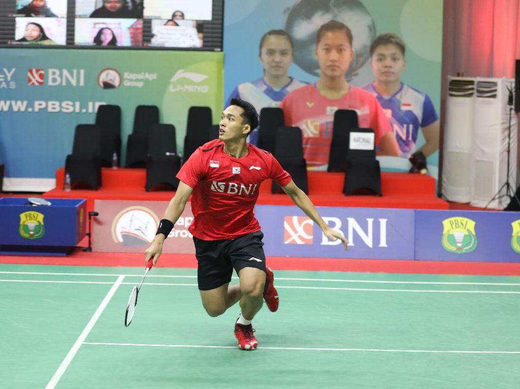 Piala Thomas 2020: Jonatan Christie Menang, Indonesia Ungguli Taiwan 2-1
