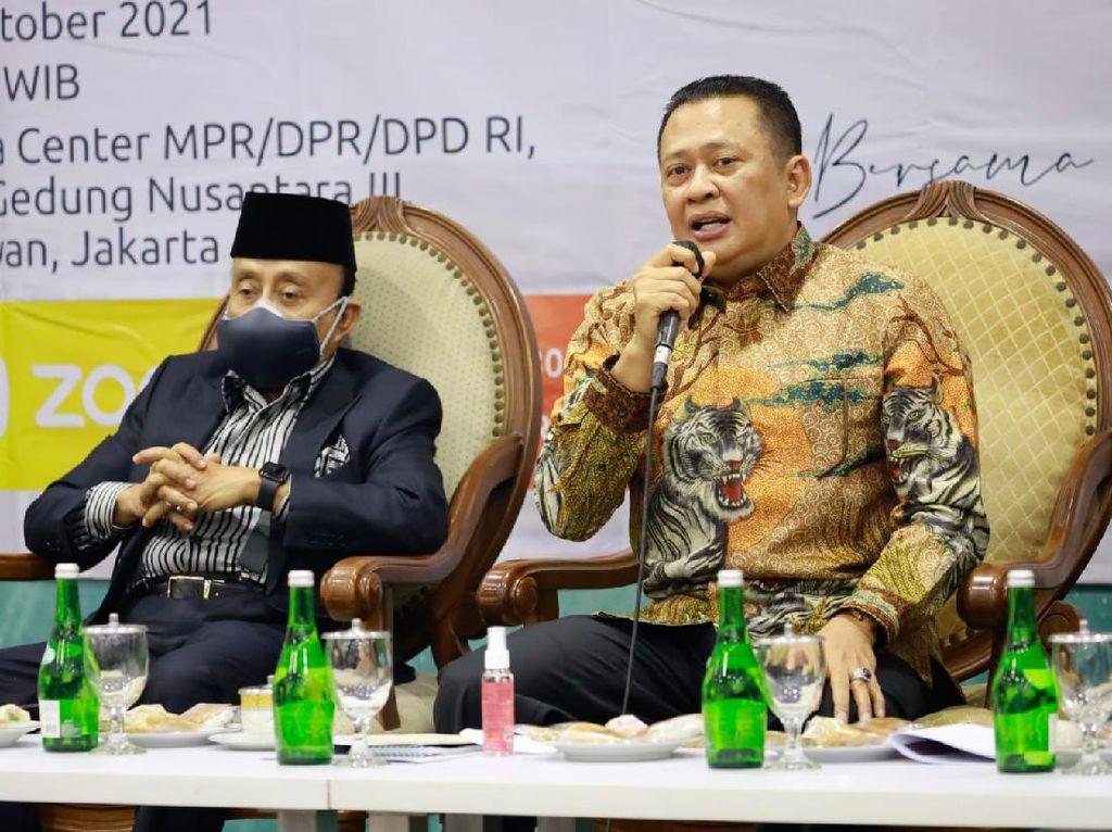 Ketua MPR Sebut PPHN Tak Perlemah Konsensus Sistem Presidensial