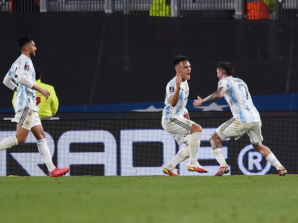 Kualifikasi Piala Dunia 2022: Argentina Gebuk Uruguay 3-0