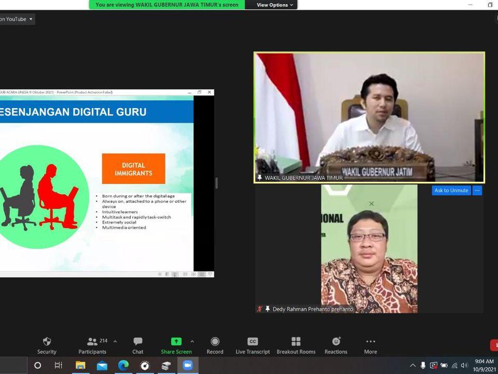 Wagub Emil Dorong Inovasi Baru Sistem Pembelajaran di Era Pandemi COVID-19