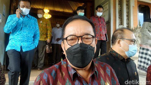 Wakil Gubernur Bali Tjokorda Oka Artha Ardhana Sukawati (Cok Ace). (Sui Suadnyana/detikcom)