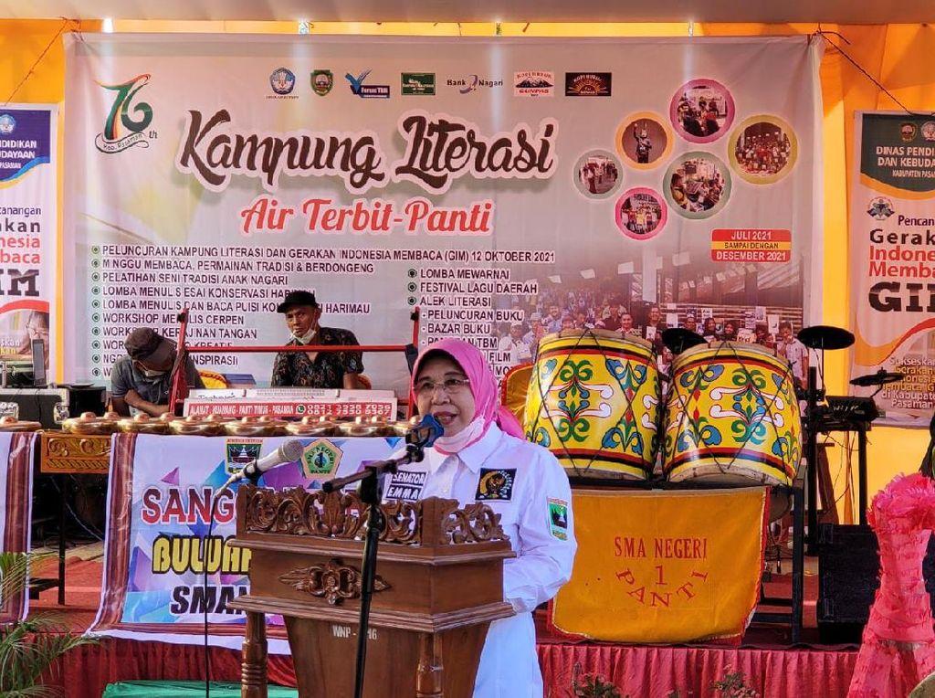 Ada Kampung Literasi di Pasaman, DPD Harap Anak Muda Gemar Membaca