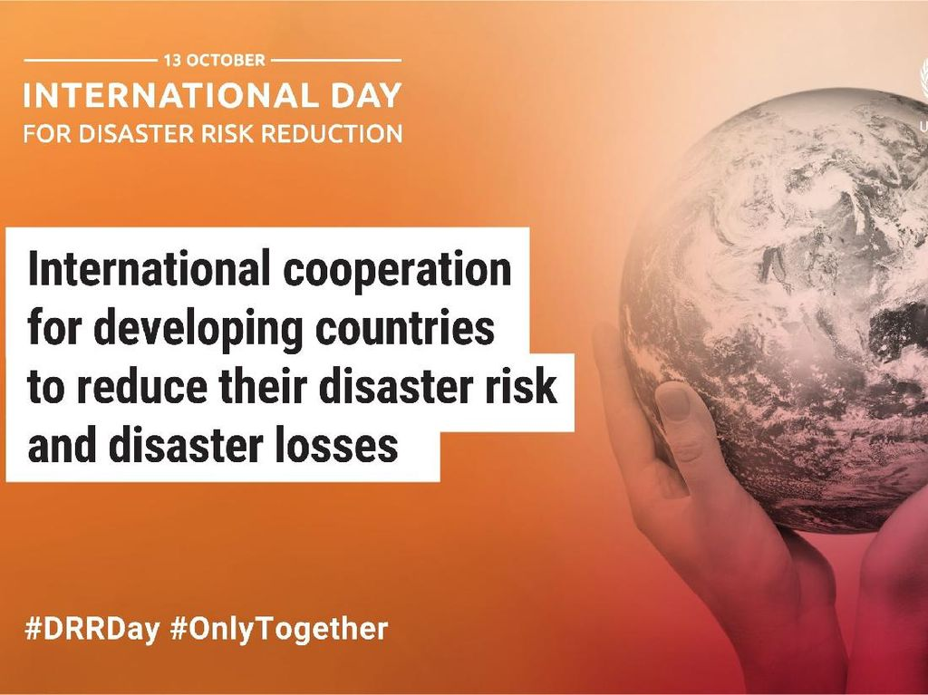Apa yang Terjadi 13 Oktober: Hari Pengurangan Risiko Bencana Internasional