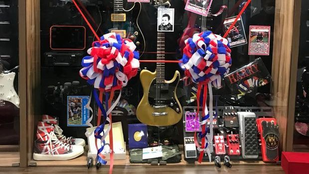 Keluarga Aria Baron rilis pedal gitar dan Baron's Corner