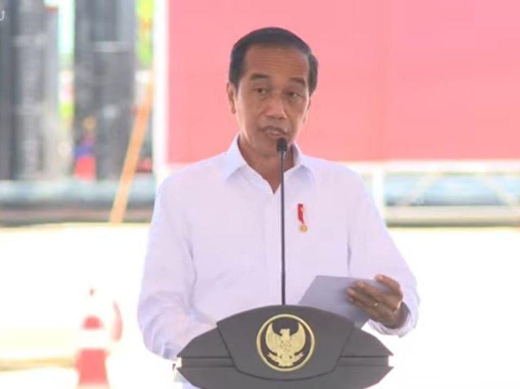 Jokowi Resmikan Pabrik Biodiesel Rp 2 Triliun Milik Haji Isam