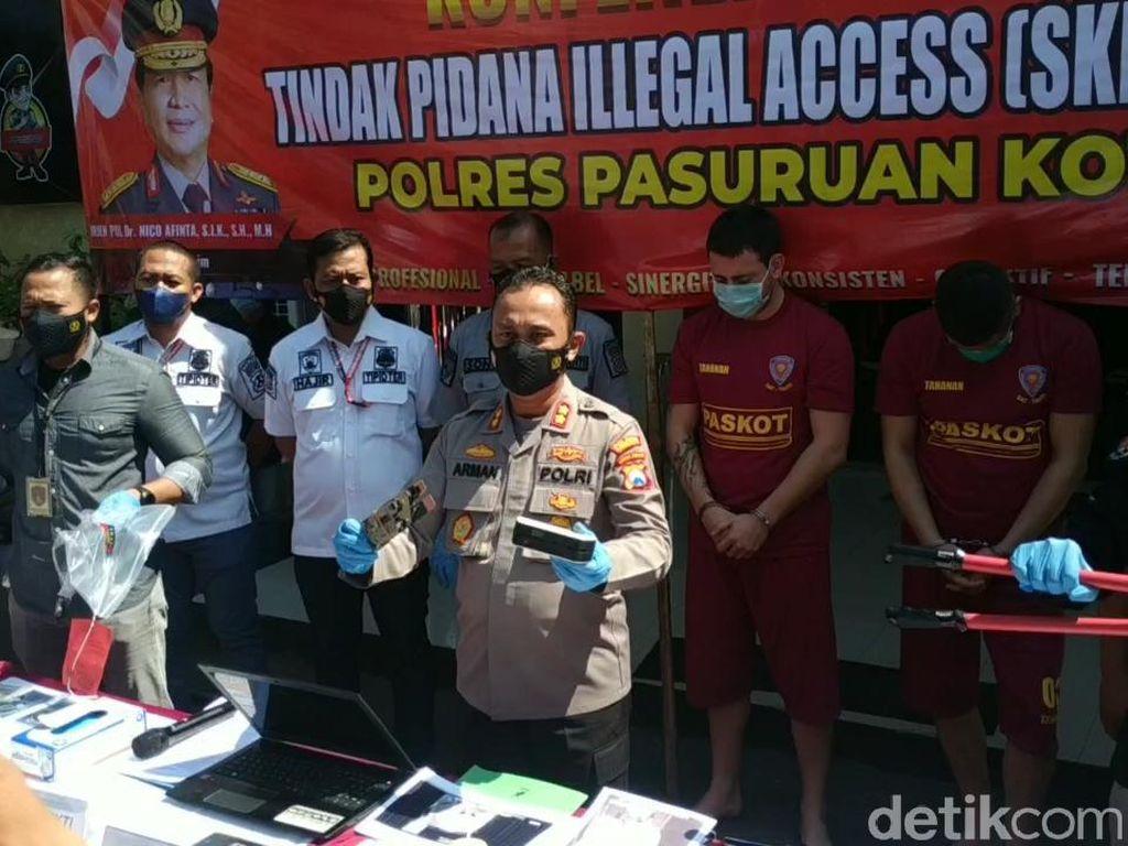 WN Bulgaria Raup Rp 493 Juta dengan Aksi Kejahatan Skimming di Pasuruan