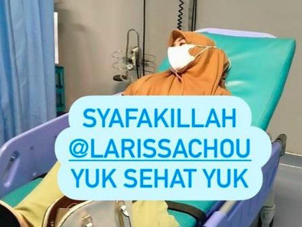 Larissa Chou Dilarikan ke Rumah Sakit, Kenapa?
