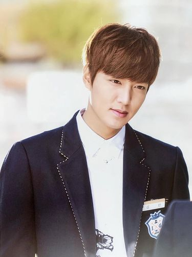 Lee Min Ho di drama The Heirs