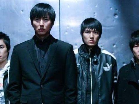 Lee Min Ho (kanan) dan Kim Nam Gil (kiri) di Public Enemy in Returns
