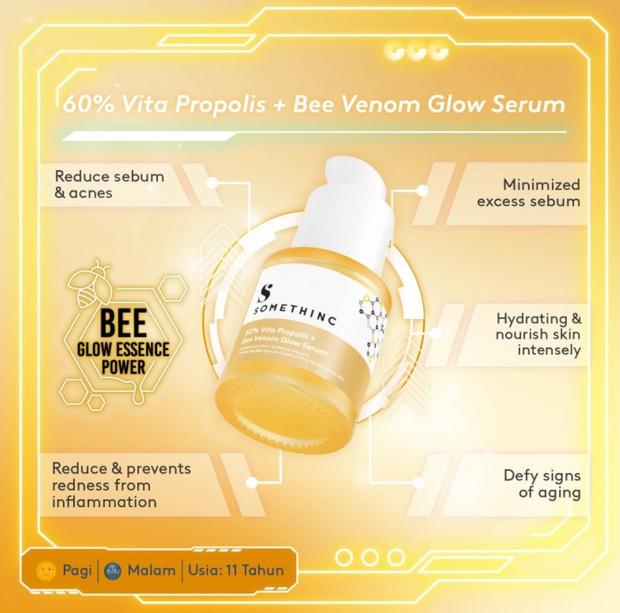 Somethinc 60% Vita Propolis + Bee Venom Glow Serum