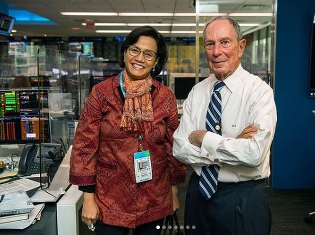 Sri Mulyani Temui Bos Media Paling Kaya di Dunia, Ngomongin Apa?