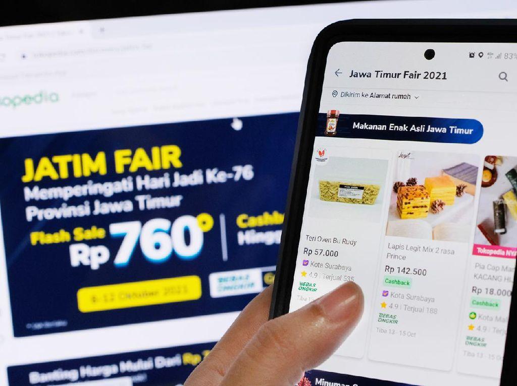 Bangkitkan UMKM, Tokopedia-Pemprov Kembali Gelar Jatim Fair Hybrid